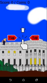 Flappy Trump apk screenshot