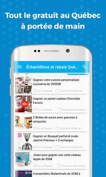 Échantillons et rabais Québec apk screenshot