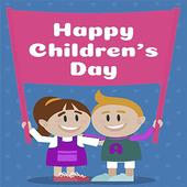 Happy Children Day icon