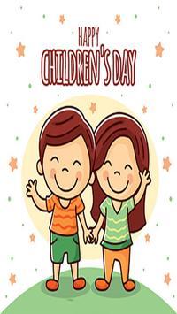 Happy Children Day poster