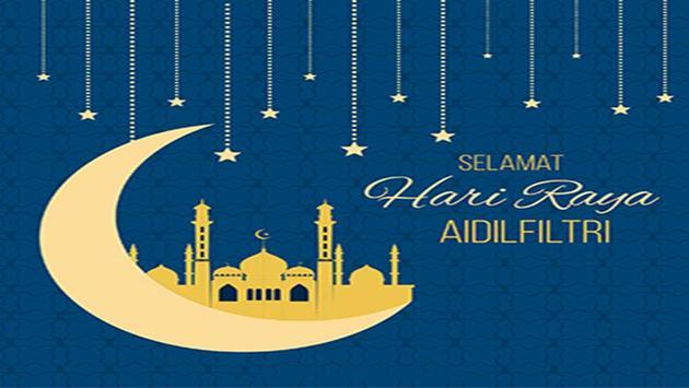 Hari Raya Greeting Cards poster