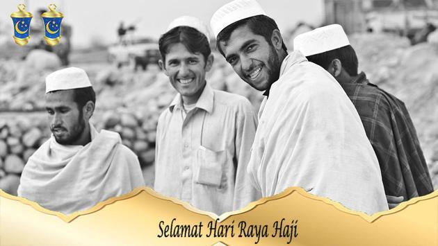 Hari Raya Haji Photo Grid screenshot 3