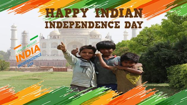 Independence Day Photo Grid 15 Aug screenshot 3