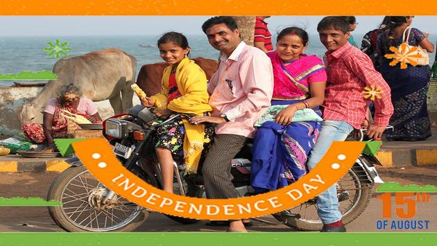 Independence Day Photo Grid 15 Aug screenshot 1