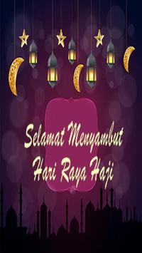 Kad Ucapan Hari Raya Haji poster
