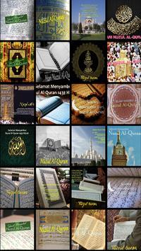 Nuzul Al Quran Greeting Cards screenshot 4