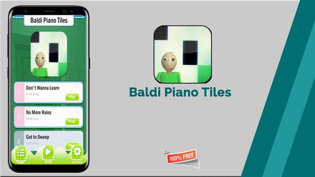Baldi Piano Tiles screenshot 8