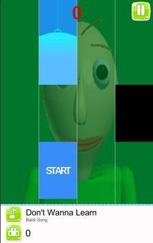 Baldi Piano Tiles screenshot 2