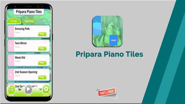 Pripara Piano Tiles 🎹 screenshot 6