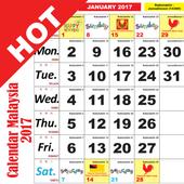 Calendar Malaysia 2017 icon