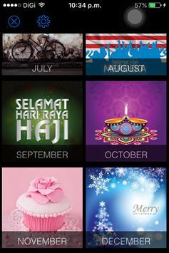 Calendar Malaysia 2017 apk screenshot