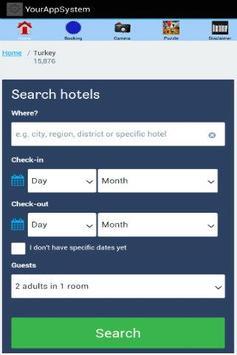 Travel Booking Turkey screenshot 1