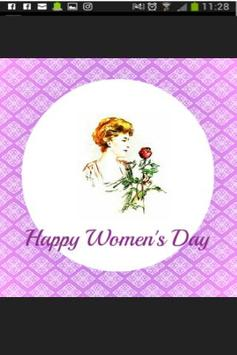 Womens Day eCard poster