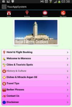 Travel Booking Morocco apk screenshot