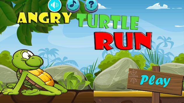 Angry Turtle Run poster