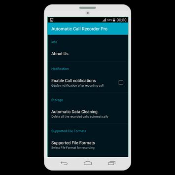 Automatic Call Recorder Pro تصوير الشاشة 3