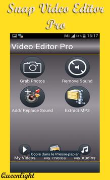 Snap Video Editor Pro poster