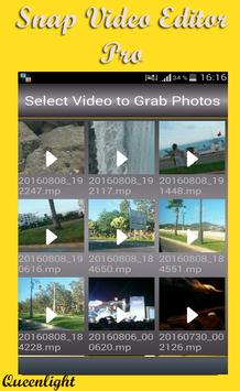 Snap Video Editor Pro apk screenshot