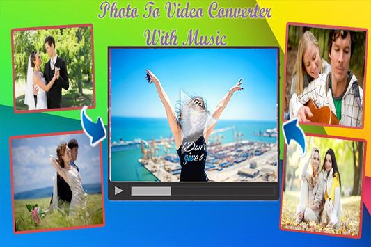 Photo To Video Converter poster