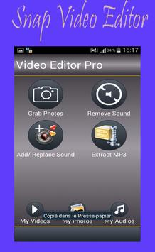 Snap Video Editor poster