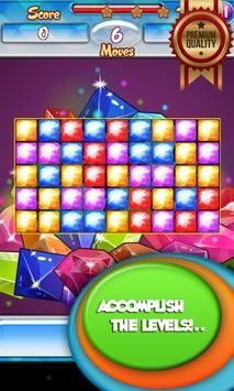 Jewel Crush Match 3 screenshot 2