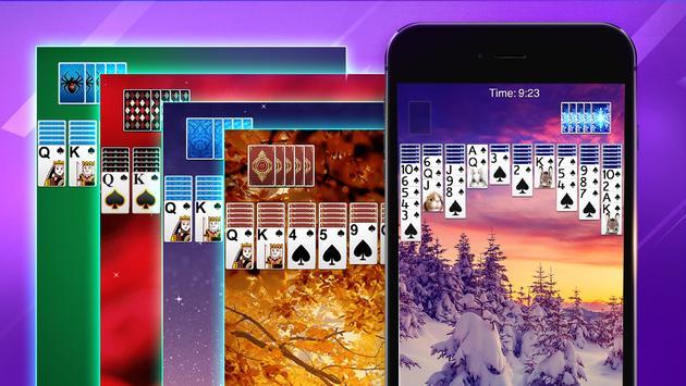 Spider Solitaire screenshot 7