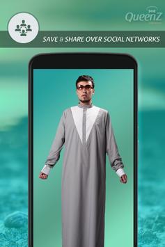 Arab Man Fashion Suit apk screenshot