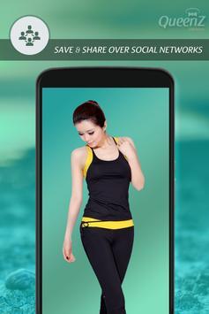 Fitness Girl Photo Suit screenshot 4