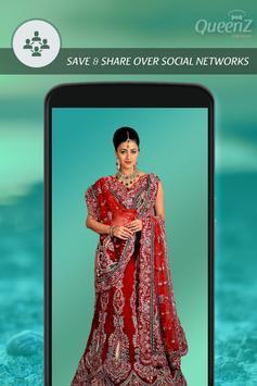 Indian Marriage Saree Photo apk screenshot