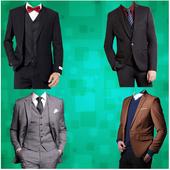 Man Stylish Photo Suit icon