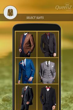 Man Stylish Photo Suit poster