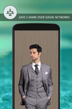 Man Stylish Photo Suit apk screenshot