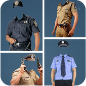 Police Suit Photo Editor icon