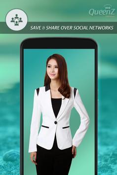Woman Jacket Photo Suit apk screenshot