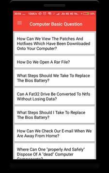 Computer Basic Q&A poster