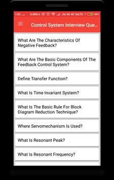Control System Interview Question poster