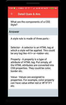 CSS Interview Questions screenshot 3