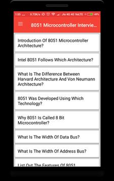 8051 Microcontroller Interview Question poster