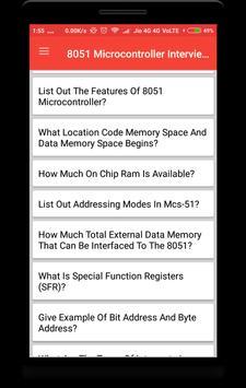 8051 Microcontroller Interview Question screenshot 1