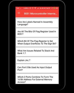 8051 Microcontroller Interview Question screenshot 9