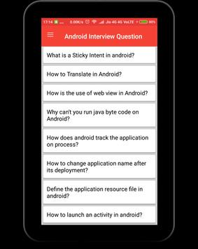 Interview Question for Android apk screenshot