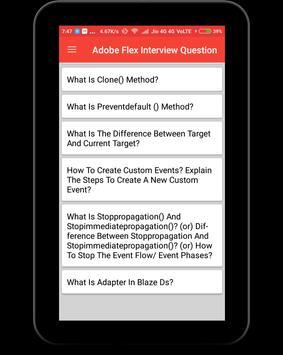 Adobe Flex Interview Question screenshot 9