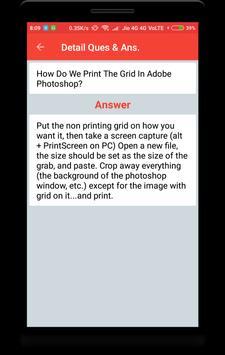 Adobe Photoshop Interview Question screenshot 3