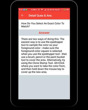 Adobe Photoshop Interview Question screenshot 10