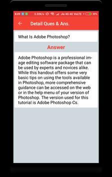 Adobe Photoshop Interview Question screenshot 2