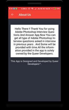 Adobe Photoshop Interview Question screenshot 7
