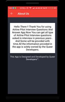 Airline Pilot Interview Question screenshot 7