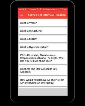 Airline Pilot Interview Question screenshot 8