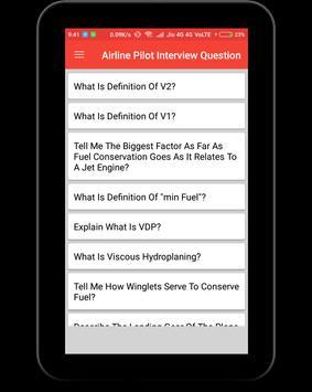 Airline Pilot Interview Question screenshot 9
