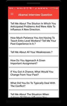 Akamai Interview Question screenshot 1